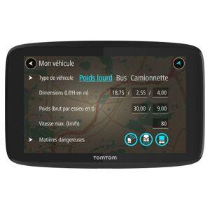 """TOM  TOM GPS Poids Lourds TomTom Go Professional 620 6"""" Cartographie Europe 49 et Traffic à vie via Smartphone - Publicité"""