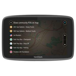 """TOM GPS Poids Lourds TomTom Go Professional 6200 6"""" Cartographie Europe 49 à vie, Traffic et Zones de danger 1 an via Carte SIM intégrée - Publicité"""