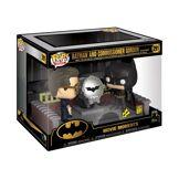 Funko Petite figurine Funko Pop Movie Moment Batman 80th Light up Bat signal - Petite figurine