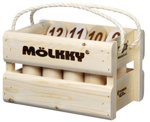 Tactic Jeu de Quilles Molkky Tactic Version Luxe - Autre jeu de plein air