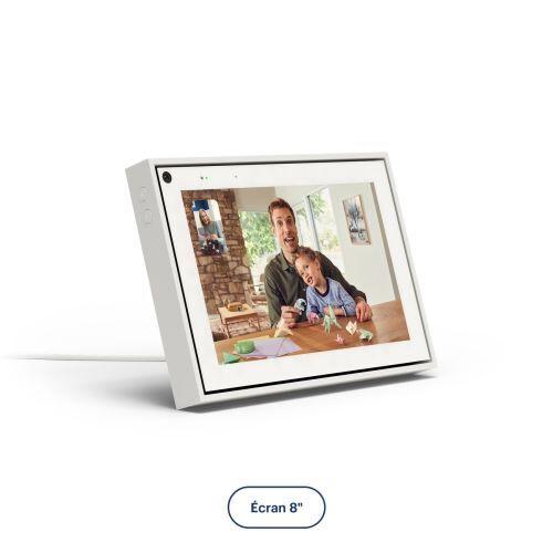 "Portal From Facebook Ecran connecté Portal Mini de Facebook 8"" Blanc - Enceinte intelligente"