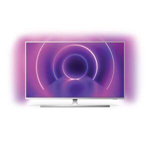"""Philips TV Philips The One 50PUS8545 50'' LED 4K UHD Smart TV Ambilight Argent - Téléviseur LCD 44"""" à 55"""" - Publicité"""