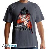 Abysse corp T-Shirt Kame Symbol Dragon Ball Z Kamehameha Homme Taille XL Gris foncé - Objet dérivé