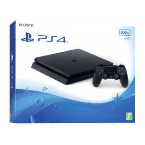 Sony Console Sony PS4 Slim 500 Go Noir - Publicité