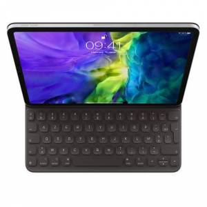 """Apple Clavier Apple Smart Folio iPad Pro 11"""" 2ème génération Noir - Clavier pour tablette - Publicité"""