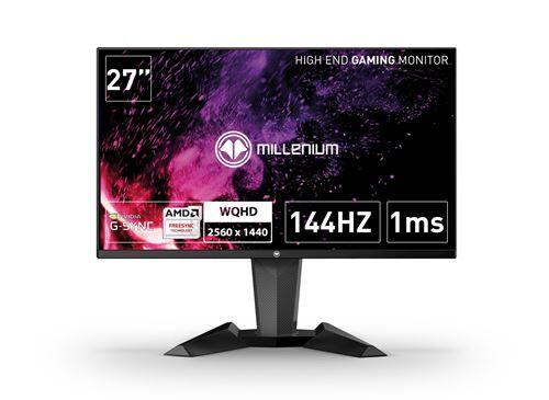 """Millenium Ecran Gaming Millenium MD 27 Pro 27"""" Full QHD Noir - Ecran PC"""