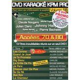 Karaoké KPM Pro Années 70 & 80 & 90 Coffret DVD - DVD Zone 2