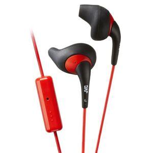 JVC Ecouteurs JVC HA-ENR15 Sport Gumy Noirs et Rouges - Kit piéton mains libres