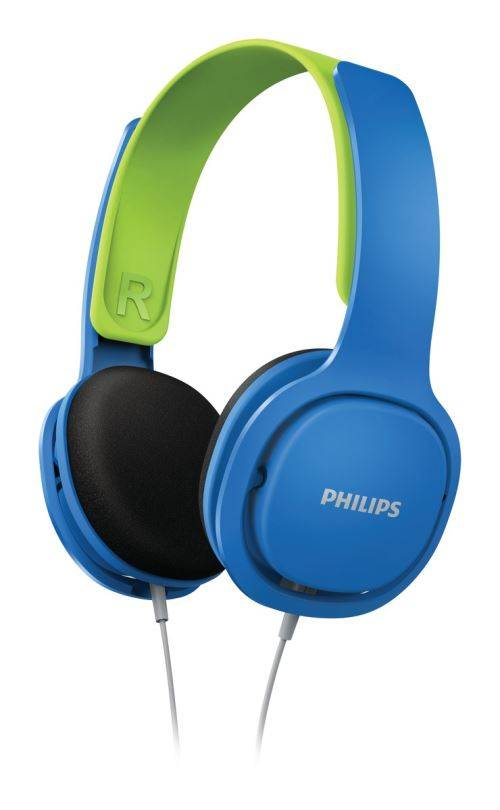 Philips Casque audio pour enfant Philips SHK2000BL Robuste et confortable Bleu - Casque audio