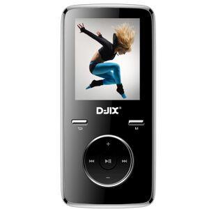 "Djix Lecteur MP4 D-Jix M350 1.8"" 8 Go Noir - Baladeur MP3 / MP4"