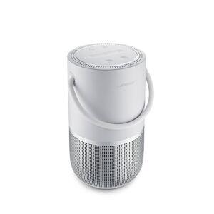 Bose Enceinte portable multiroom Bose Home Speaker avec assistants vocaux intégrés Argent - Publicité