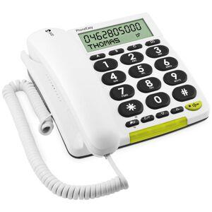Doro Téléphone fixe avec fil Doro PhoneEasy 312cs Blanc - Téléphone filaire - Publicité
