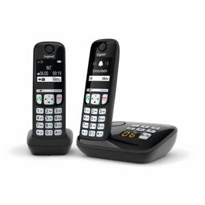 Gigaset Téléphone fixe sans fil Gigaset A700A Duo Noir - Téléphone VoIP - Publicité
