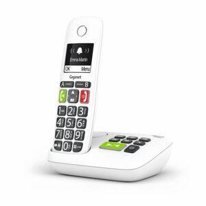 Gigaset Téléphone fixe sans fil Gigaset E200A Solo Blanc - Téléphone VoIP - Publicité