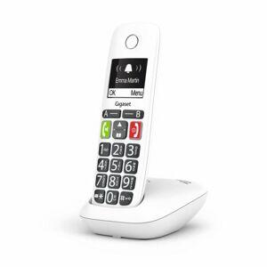 Gigaset Téléphone fixe sans fil Gigaset E200 Solo Blanc - Téléphone VoIP - Publicité
