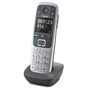 Gigaset Téléphone fixe sans fil E560 HX Argent - Téléphone sans fil - Publicité