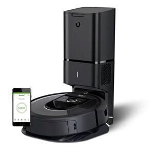 Irobot Aspirateur robot Irobot Roomba i7+ avec sa base autovidage CleanBase Noir - Publicité