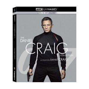 Coffret Daniel Craig La Collection James Bond 007 4 Films Blu-ray 4K Ultra HD - Publicité