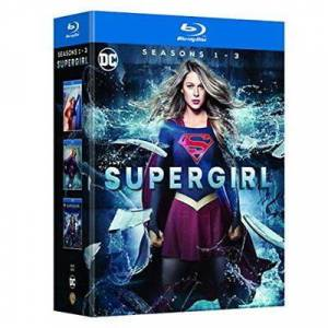 Supergirl Seasons 1 to 3 Blu-ray - Publicité
