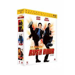 Coffret Rush Hour La Trilogie Blu-ray - Blu-ray - Publicité
