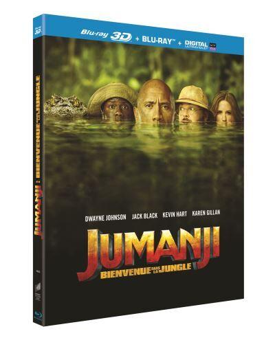 Jumanji : Bienvenue dans la jungle Blu-ray 3D + Blu-ray 2D - Blu-ray