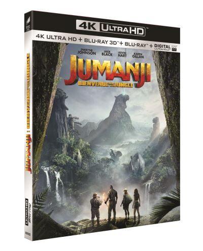 Jumanji : Bienvenue dans la jungle Blu-ray 4K Ultra HD - Blu-ray 4K