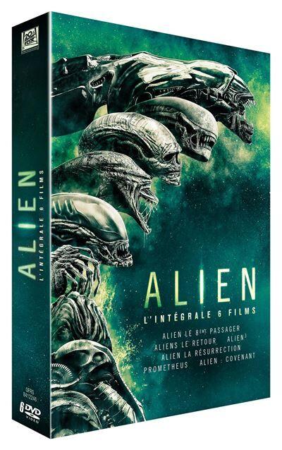 Alien L'intégrale Coffret des 6 films DVD - DVD Zone 2