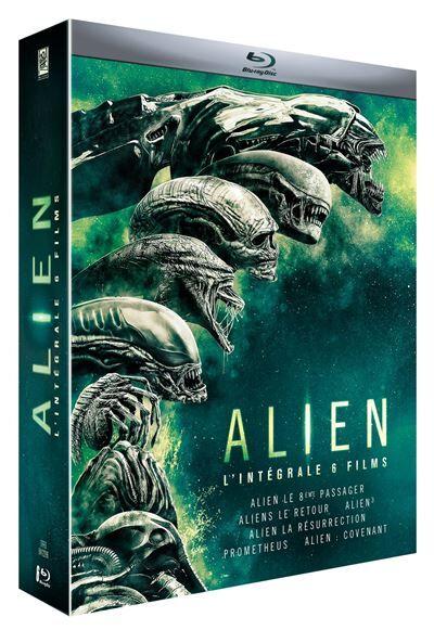 Alien L'intégrale Coffret des 6 films Blu-ray - Blu-ray