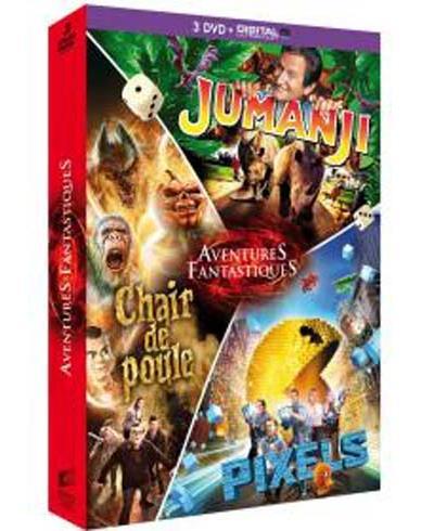 Coffret Aventures fantastiques 3 films DVD - DVD Zone 2
