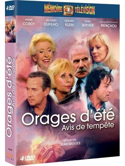 Orages d'été, Avis de tempête L'intégrale Coffret DVD - DVD Zone 2