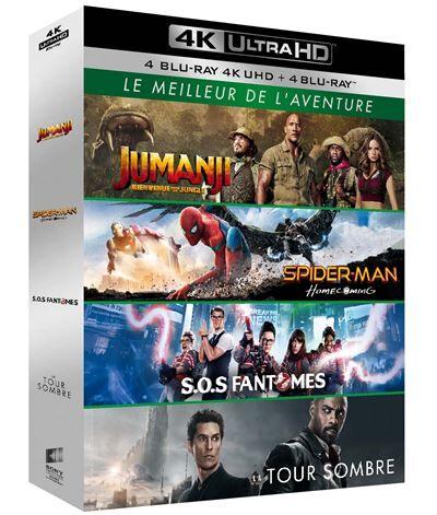 Coffret Le Meilleur de l'aventure Blu-ray 4K Ultra HD - Blu-ray 4K