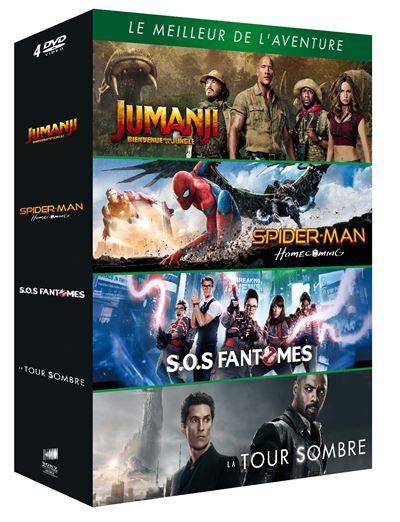 Coffret Le Meilleur de l'aventure DVD - DVD Zone 2