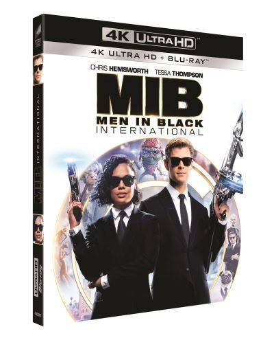 Men in Black : International Blu-ray 4K Ultra HD - Blu-ray 4K
