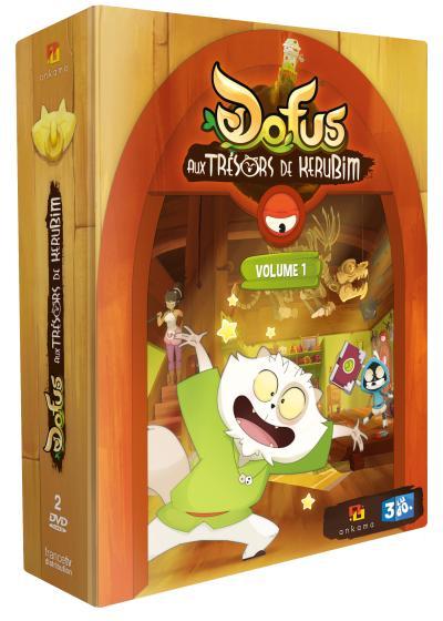 Dofus Aux trésor de Kerubim DVD - DVD Zone 2