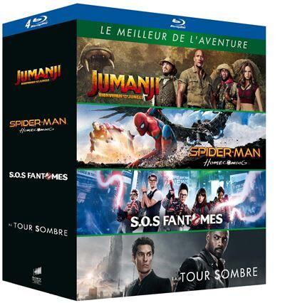 Coffret Le Meilleur de l'aventure Blu-ray - Blu-ray