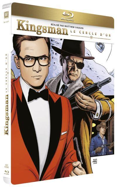 Kingsman: Le Cercle d'or Steelbook Blu-ray - Blu-ray