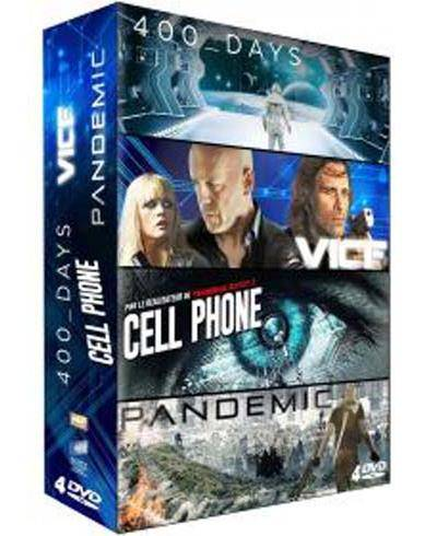Coffret 400 Days, Pandemic, Vice, Cell Phone DVD - DVD Zone 2