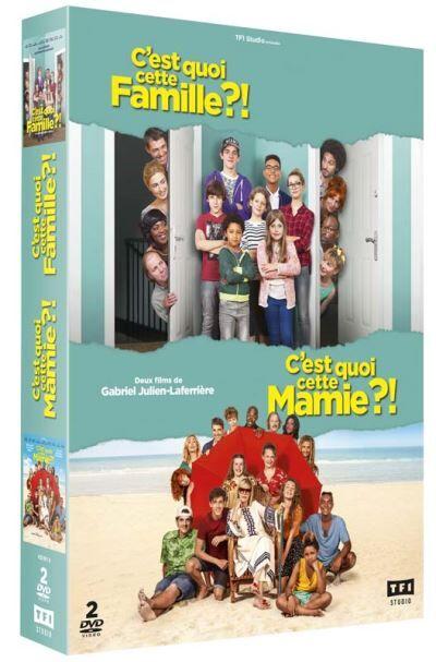 Coffret C'est quoi cette mamie ?! et C'est quoi cette famille ?! DVD - DVD Zone 2