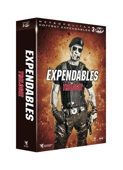 Expendables, coffret 3 films DVD - DVD Zone 2