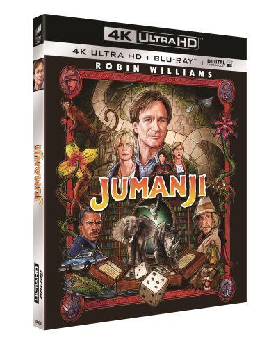 Jumanji Blu-ray 4K Ultra HD - Blu-ray 4K