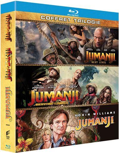 Coffret Jumanji Trilogie Blu-ray - Blu-ray