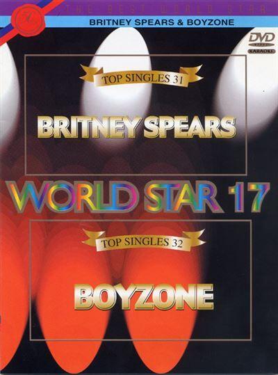 Karoké World star volume 17 - Britney Spears & Boyzone - DVD Zone 2