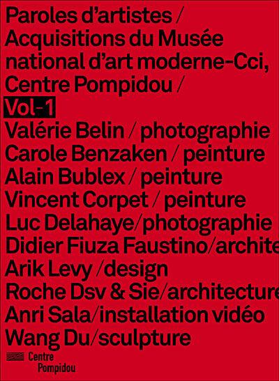 Paroles d'Artistes - 10 acquisitions du Centre Pompidou - DVD Zone 2