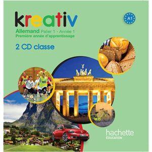 Hachette Education Kreativ Année 1 Palier 1 - Allemand - CD audio classe - Publicité