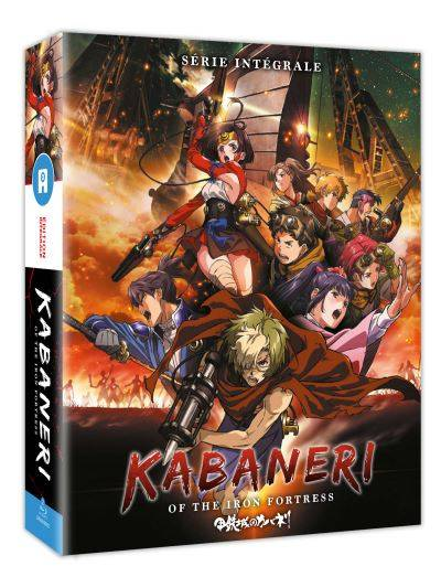 Coffret Kabaneri of the Iron Fortress Saison 1 Blu-ray - Blu-ray