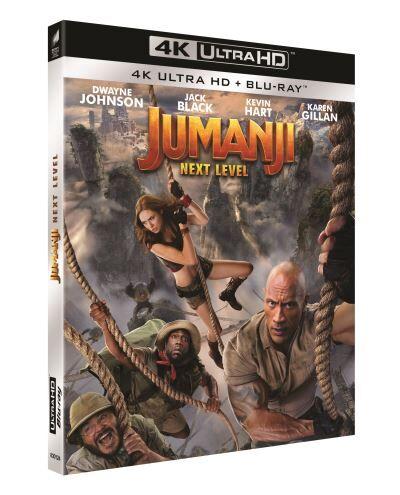 Jumanji : Next Level Blu-ray 4K Ultra HD - Blu-ray 4K