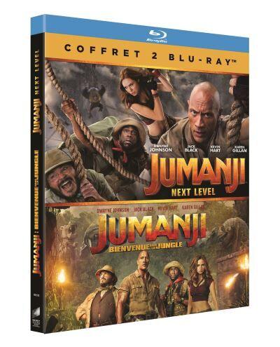 Coffret Jumanji Blu-ray - Blu-ray