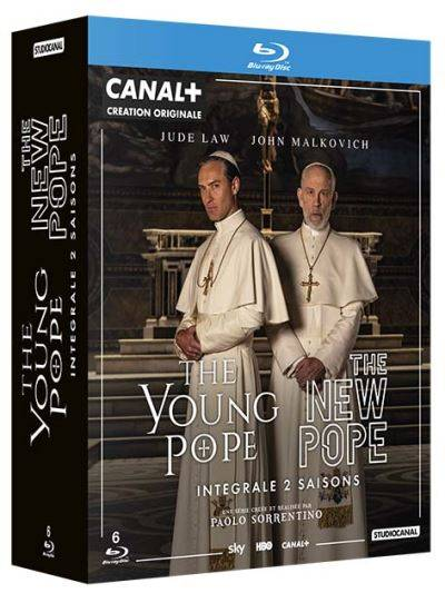 Coffret The New Pope et The Young Pope Blu-ray - Blu-ray