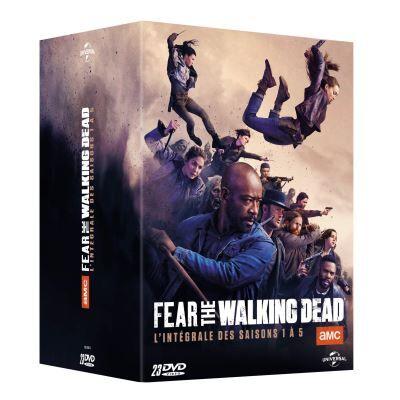 Coffret Fear The Walking Dead Saisons 1 à 5 DVD - DVD Zone 2