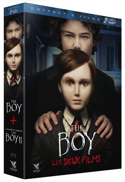 Coffret The Boy La Malédiction de Brahms : The Boy II DVD - DVD Zone 2